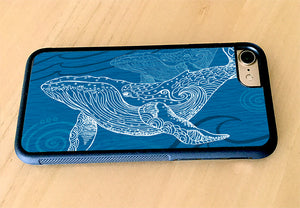 Whale One Color iPhone Case