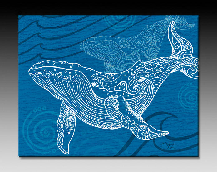 Whale One Color Ceramic Tile