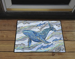 Whale Watch Door Mat