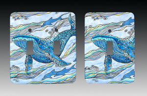 Whale Watch Light Switch Cover