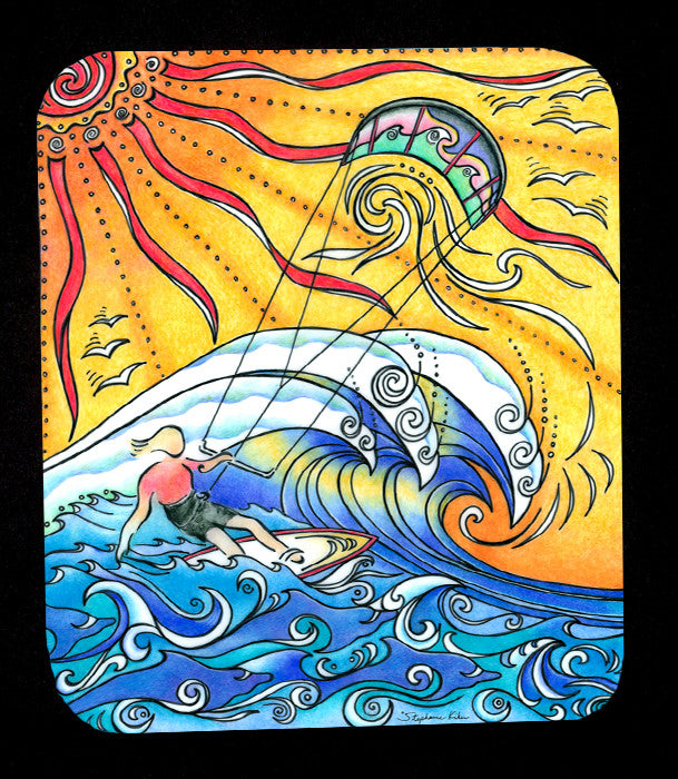 Wind and Waves Mousepad
