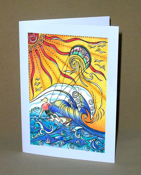 Wind and Waves Notecard