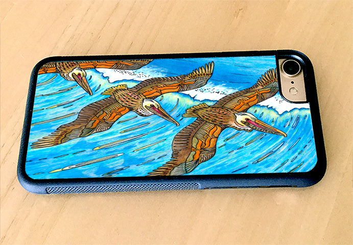 Wings over Waves iPhone Case