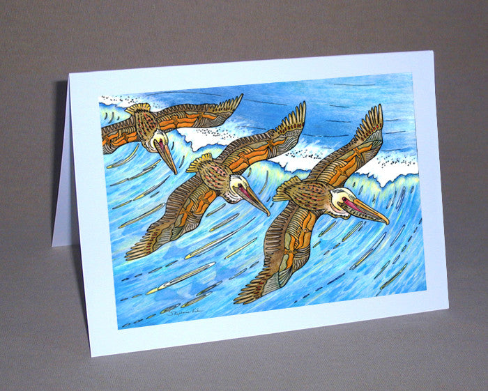 Wings over Waves Notecard