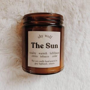 Home The Sun Candle - Tarot Soy Candle