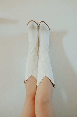 Dolly Ivory Bohemian Boot - Elysian Boutique Online Women's Clothing