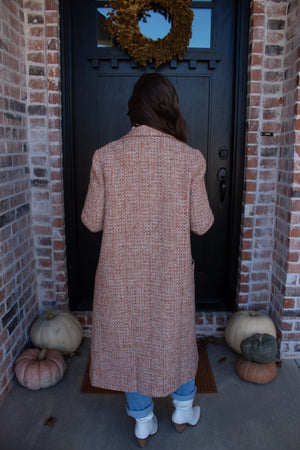 Blair Tweed Coat - Elysian Boutique
