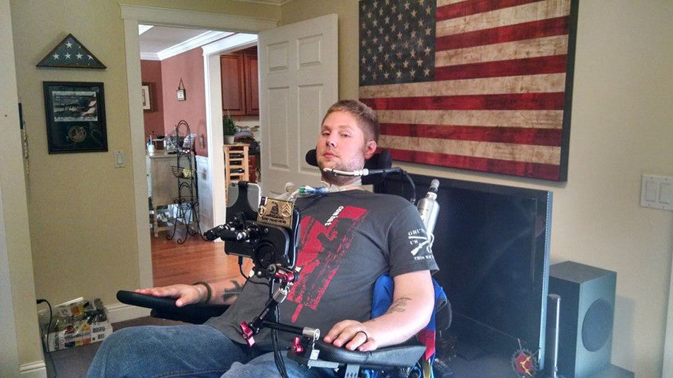 How an iPhone Changed a Paralyzed Veteran's Life