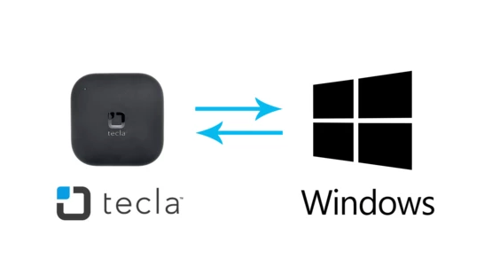 tecla-e and Windows with Communicator 5