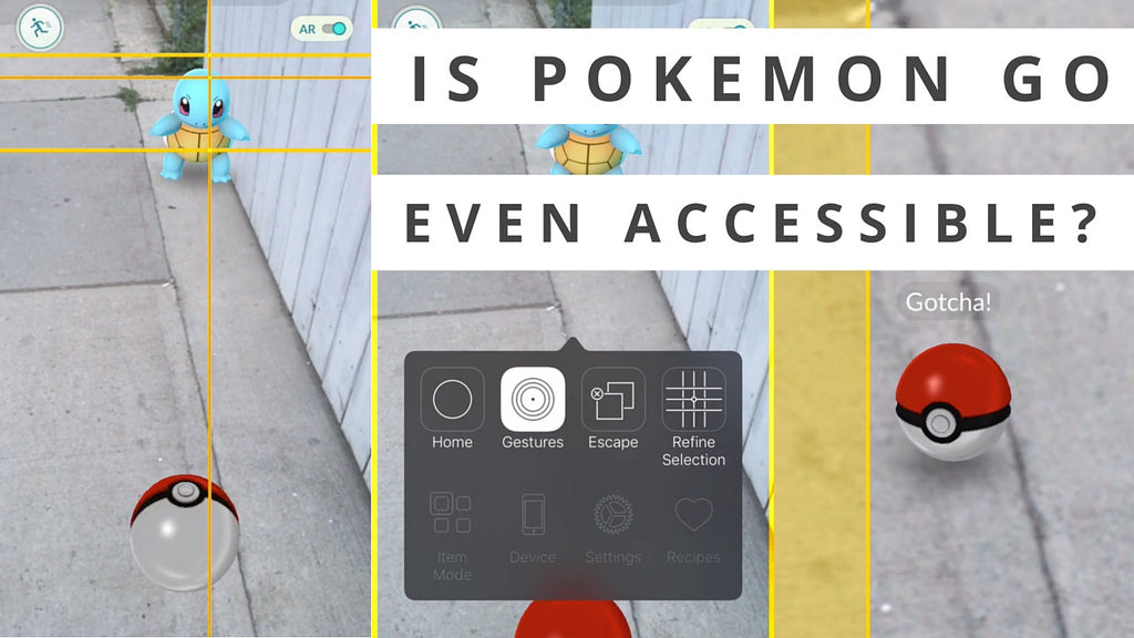 Does Pokemon GO pass our accessibility tests?