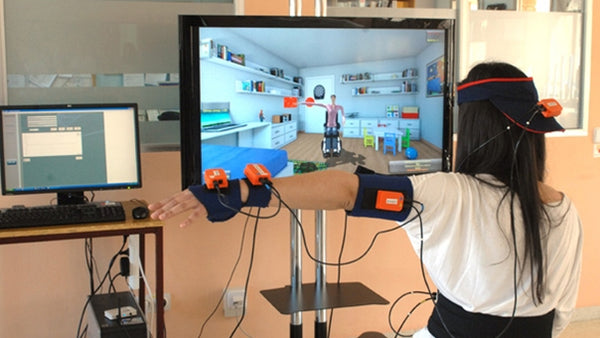 Wheelchair user virtual reality rehab