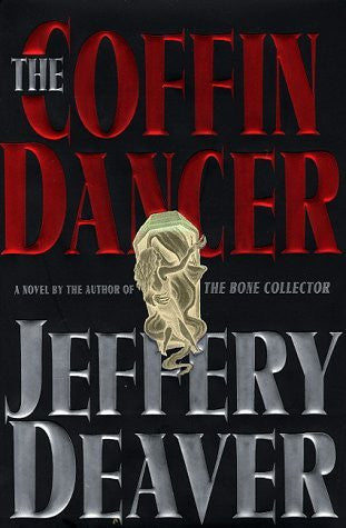 Book cover: The Coffin Dancer