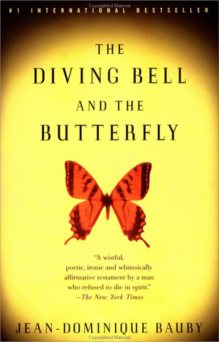 Book cover: The Diving Bell and the Butterfly