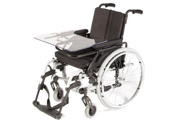 ADA wheelchair lap tray