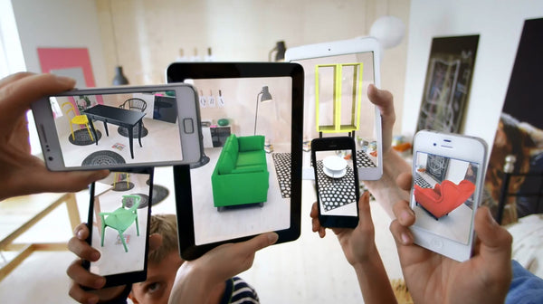IKEA'S augmented reality room using smart devices