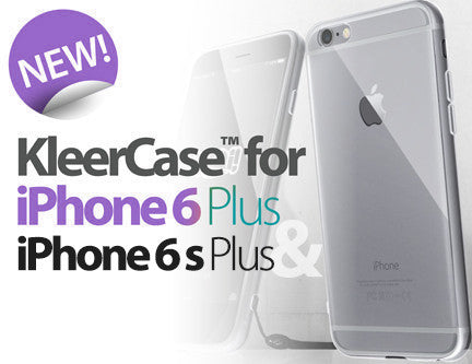 KleerCase™ for iPhone 6s Plus & 6 Plus