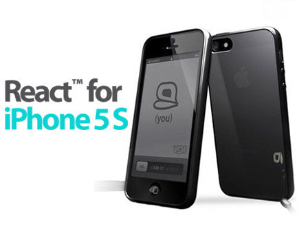 VOi React iPhone 5S Case - SUPER BLACK