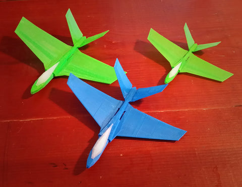 F48, T48, and T-49 next generation jet gliders