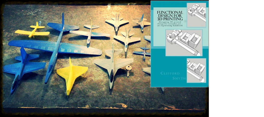 All Gliders download plus 3D Printing book combo  -- Save 60% over separate purchases!