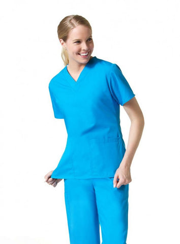 Mar Unisex Solid Scrub Set