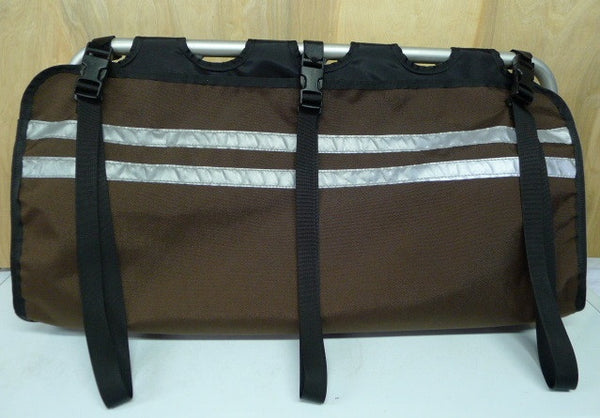 Cordura Dark Brown with Black Liner