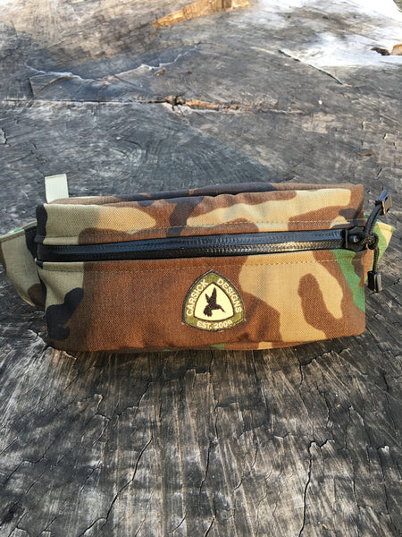 "Time Traveler ""Woodland Camo"""
