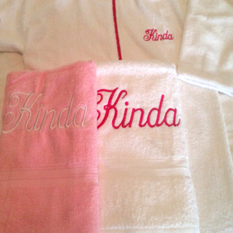 Customized, Embroidered, Monogrammed
