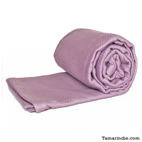 Luxury Cotton Blanket Lilac