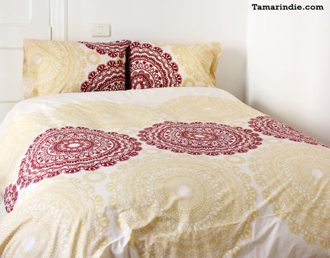 Tamarindie's Pradesh Bed Sheets