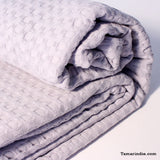 Grey Cotton Blanket|بطانية قطن رمادية
