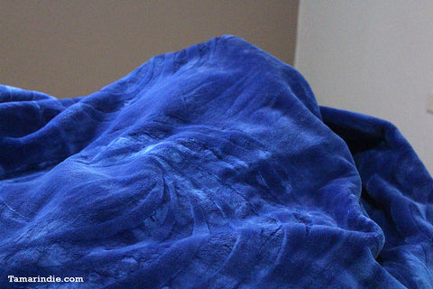 Navy Blue Single Winter Blanket|بطانية للشتاء