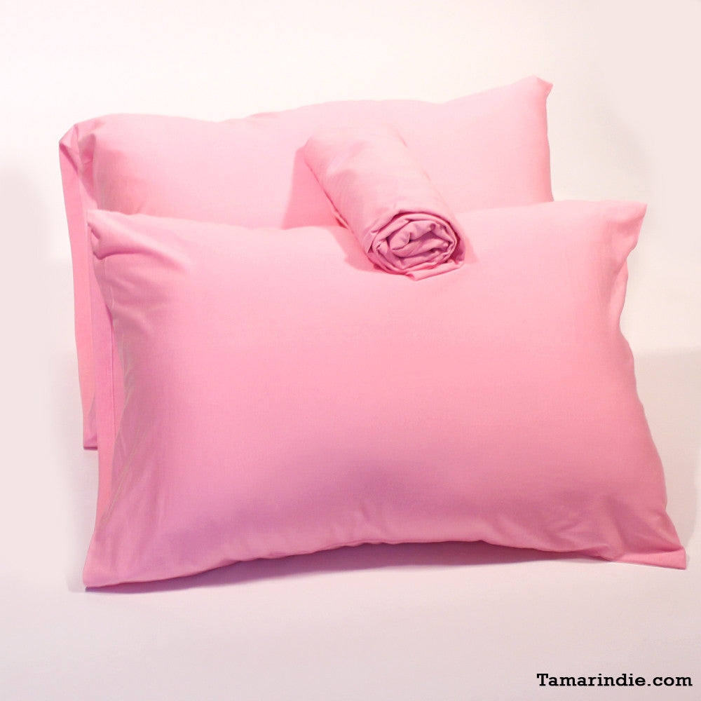 Charmant Pink T Shirt Fabric Bed Sheets ...