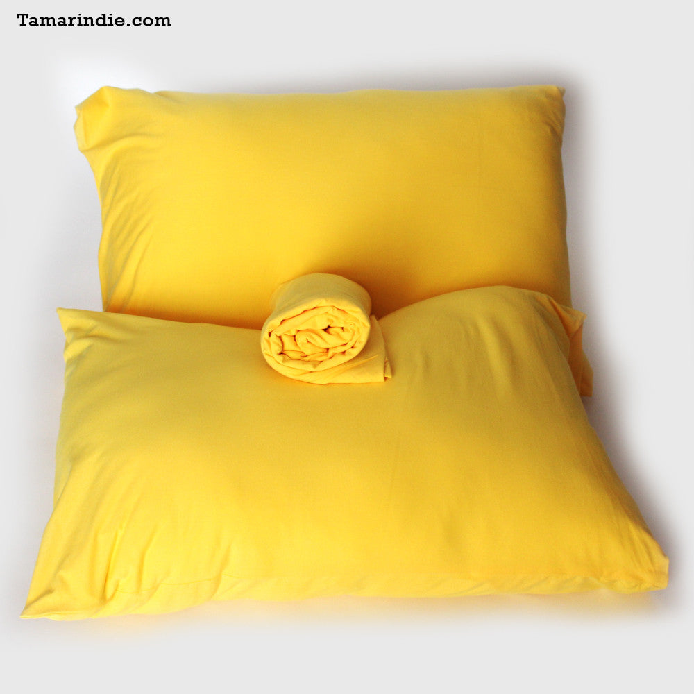 ... Yellow T Shirt Fabric Bed Sheets