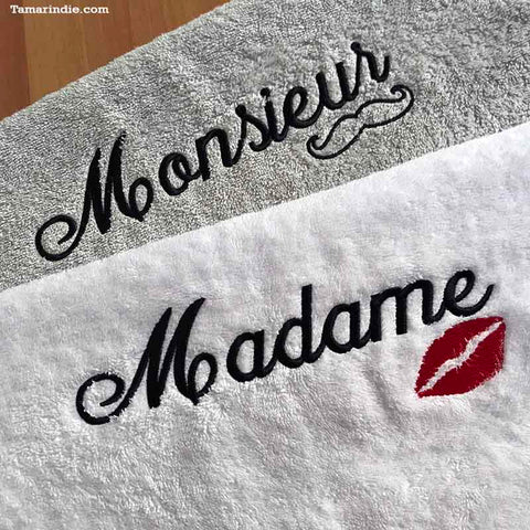Madame & Monsieur Towels| مناشف له ولها