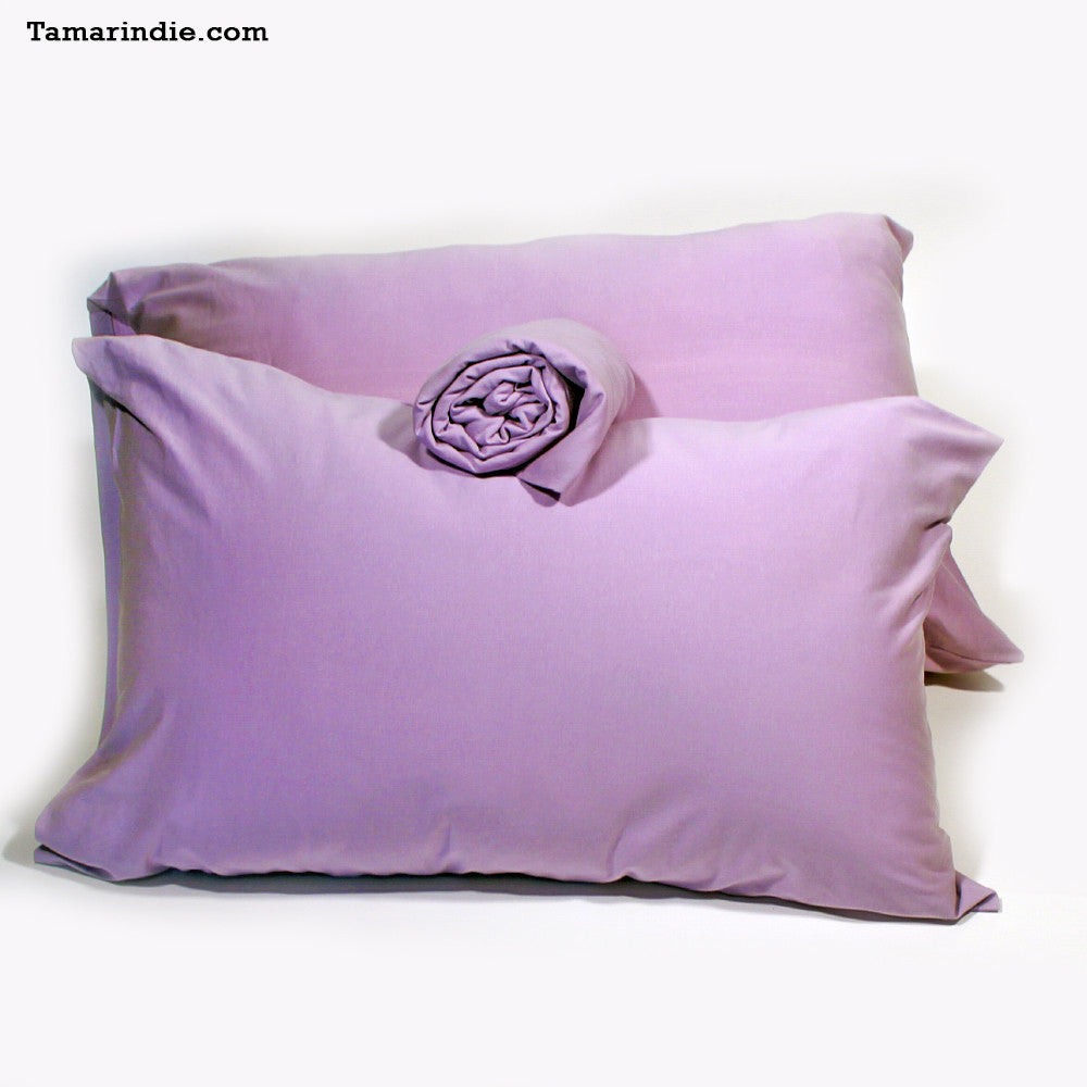 Charmant ... Purple T Shirt Fabric Bed Sheets