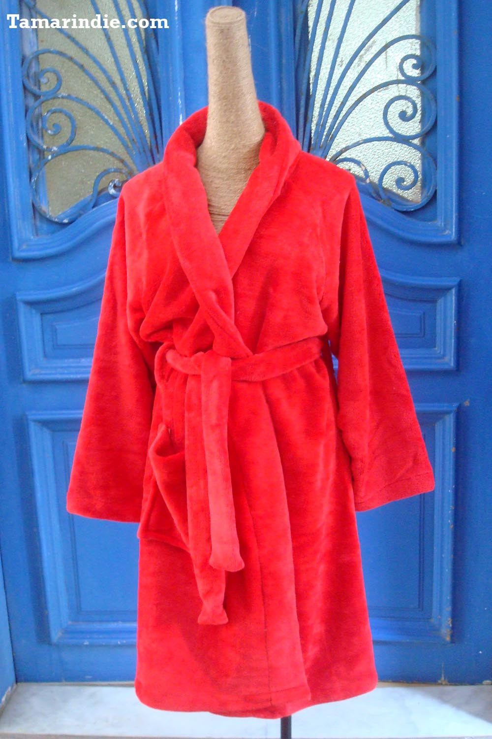 Red Winter Robe|روب للشتاء احمر
