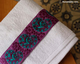 Purple Cashmere Towel|هذه منشفة