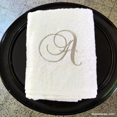 Towel with a Letter| منشفة مع حرف