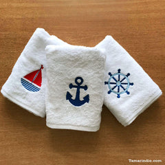 Nautical Towels| مناشف بحرية