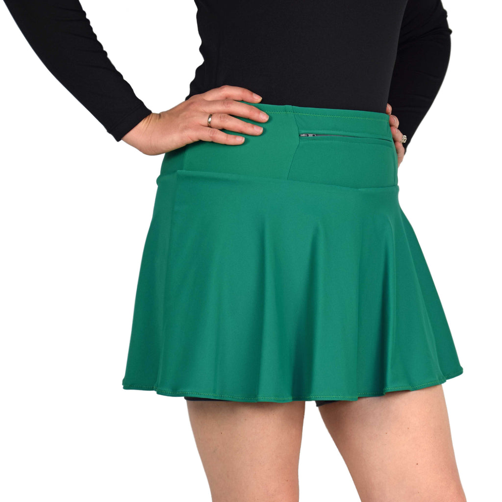 Green Running Skirt