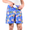 Men's Athletic Shorts - Navy (Long)