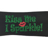 Kiss Me I Sparkle Wide Headband