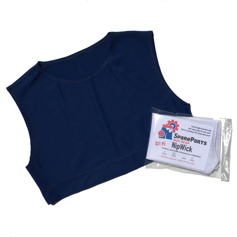 NipWick Anti-Chafe Compression Undershirts