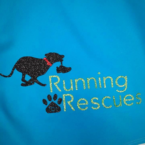 Running for Rescues Embellishment