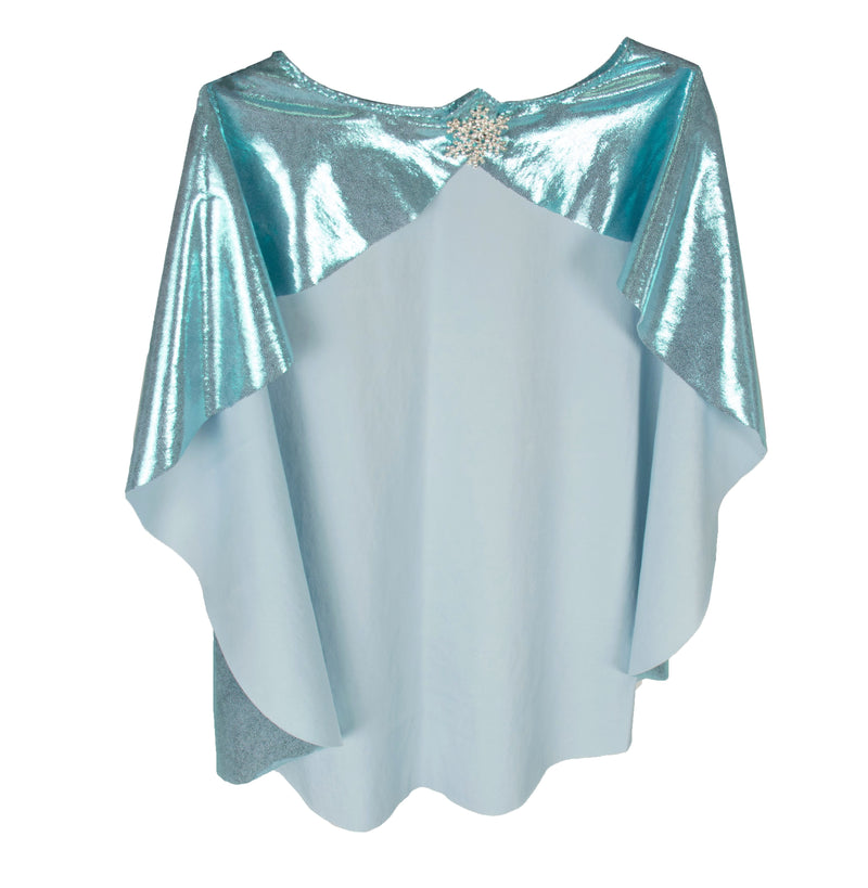 SnowPrincess LittleGirl's Foil Cape