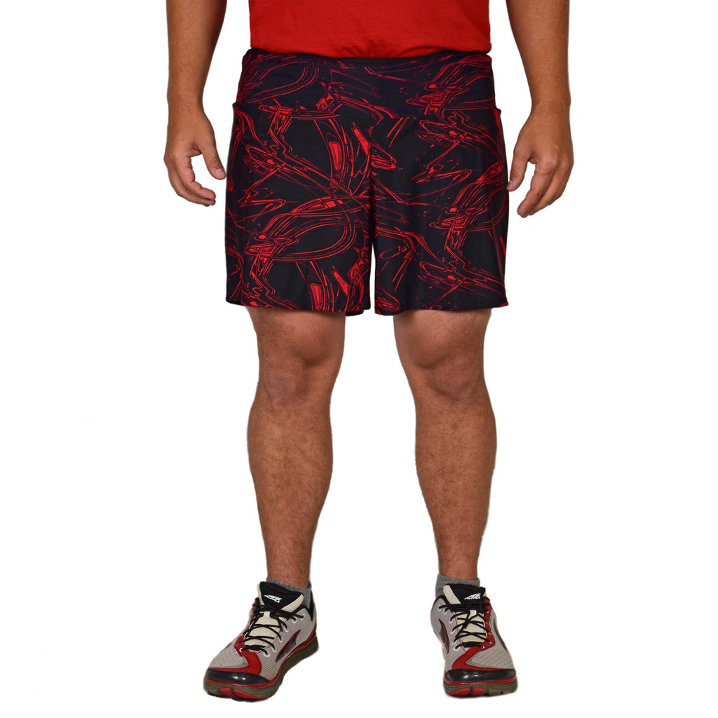 Men's Athletic Shorts - CrimsonVibes (Short)