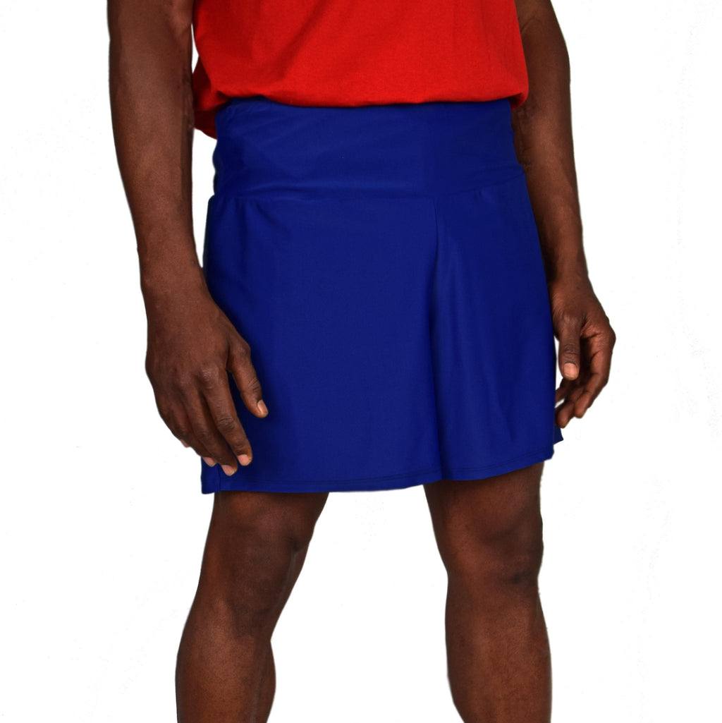 Men's Athletic Shorts - Navy (Short)