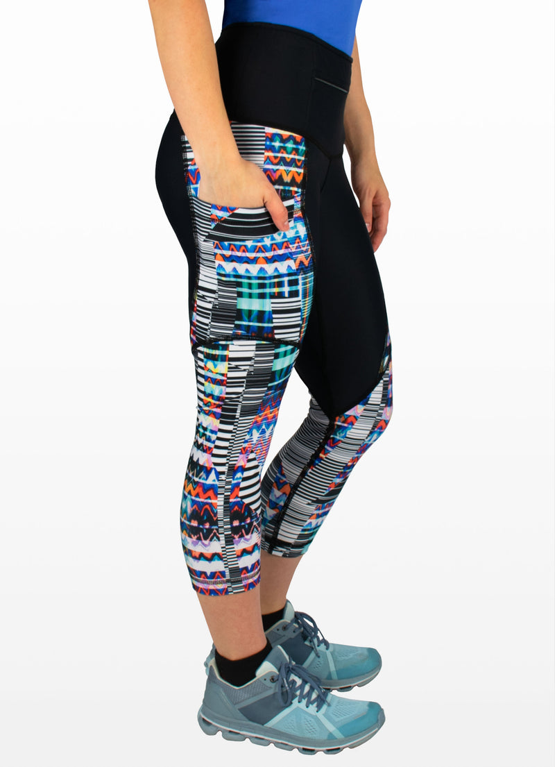 Synergy SS Capris FrontZip