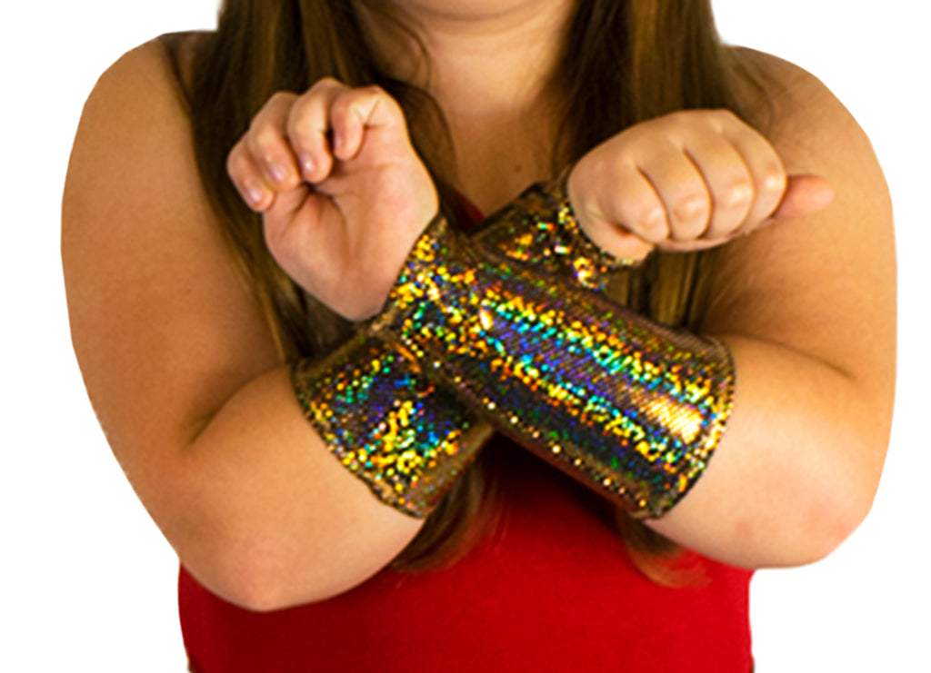 Gold Gauntlets (Youth Size)
