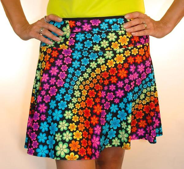 FlowerPower HikerChic w/Black Pockets - XS